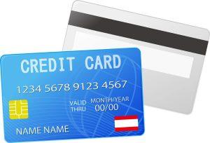 2種類のクレジットカード